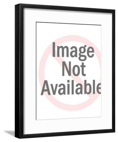 Jaunty skeleton-Pop Ink - CSA Images-Framed Art Print