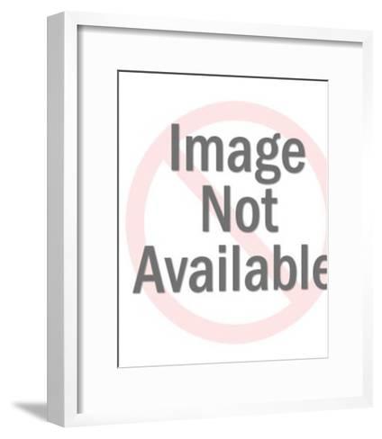 Engagement ring pattern-Pop Ink - CSA Images-Framed Art Print
