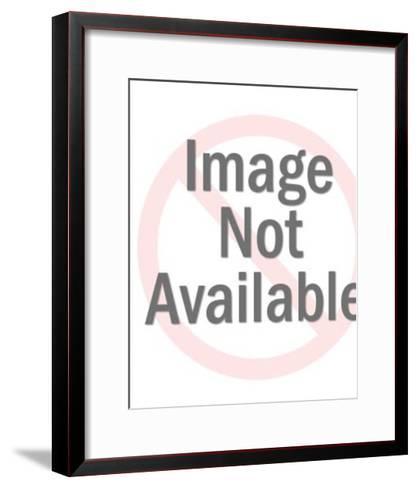 Valentine kitten-Pop Ink - CSA Images-Framed Art Print
