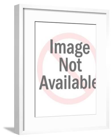 Think American-Pop Ink - CSA Images-Framed Art Print