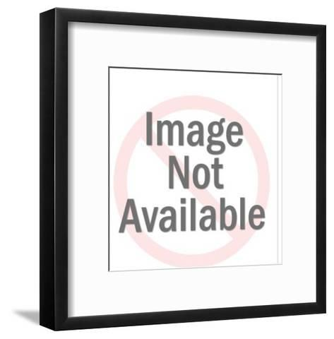 Crossed eyes-Pop Ink - CSA Images-Framed Art Print