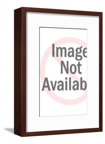 Spaceman in bikini-Pop Ink - CSA Images-Framed Art Print
