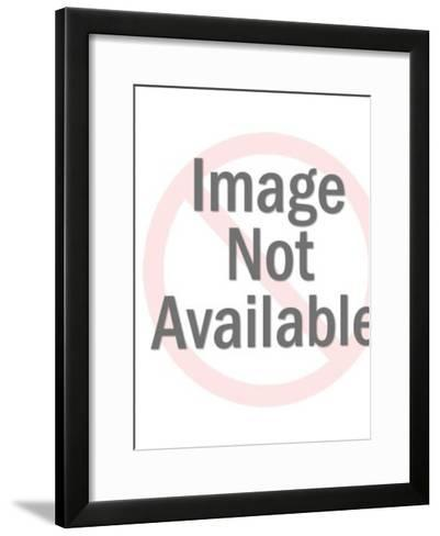 Bloody fur coat-Pop Ink - CSA Images-Framed Art Print