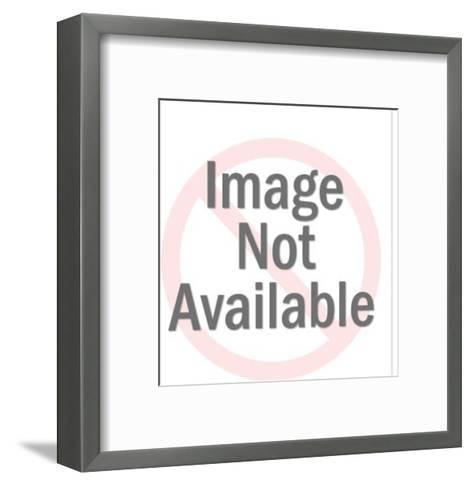 Boy dancing-Pop Ink - CSA Images-Framed Art Print