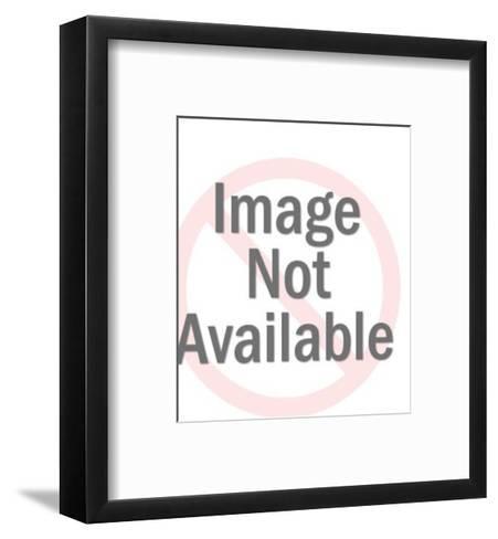 Camera pattern-Pop Ink - CSA Images-Framed Art Print