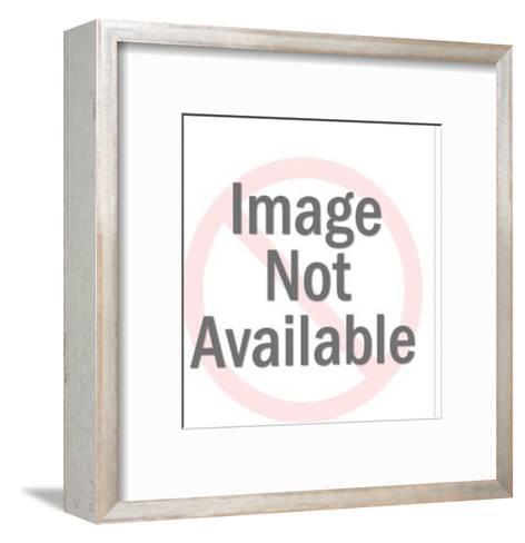 Couple at restaurant-Pop Ink - CSA Images-Framed Art Print
