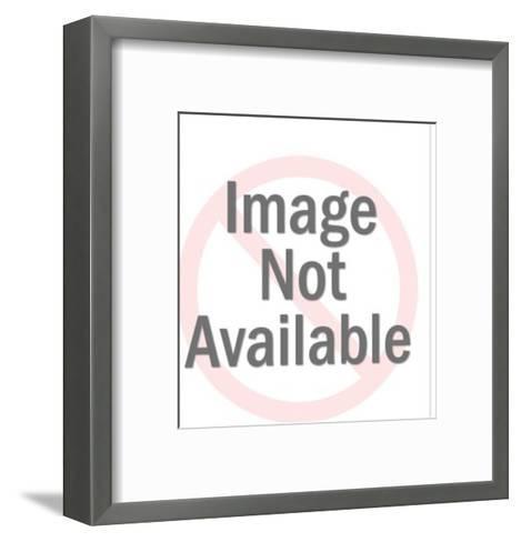 Gold watch-Pop Ink - CSA Images-Framed Art Print