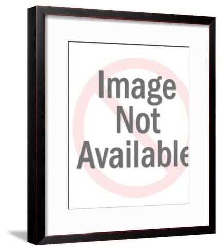 Rabbit in scope-Pop Ink - CSA Images-Framed Art Print
