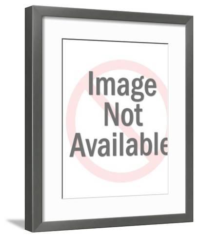 Boy with butterfly net-Pop Ink - CSA Images-Framed Art Print