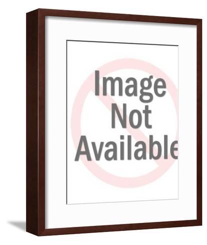 Prince and Princess Wedding-Pop Ink - CSA Images-Framed Art Print