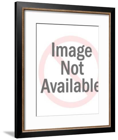 Safari hunter-Pop Ink - CSA Images-Framed Art Print