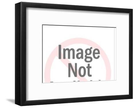 Train-Pop Ink - CSA Images-Framed Art Print