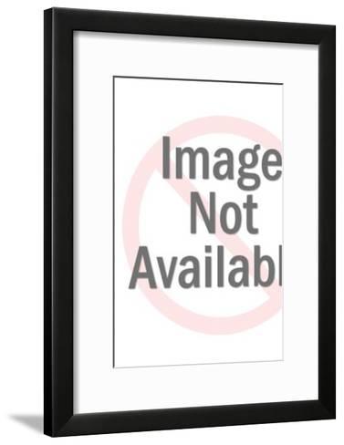 Space shuttle landing-Pop Ink - CSA Images-Framed Art Print