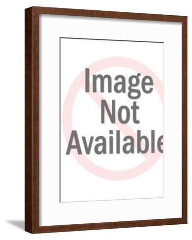 Asian woman-Pop Ink - CSA Images-Framed Art Print