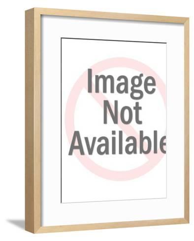 African woman-Pop Ink - CSA Images-Framed Art Print