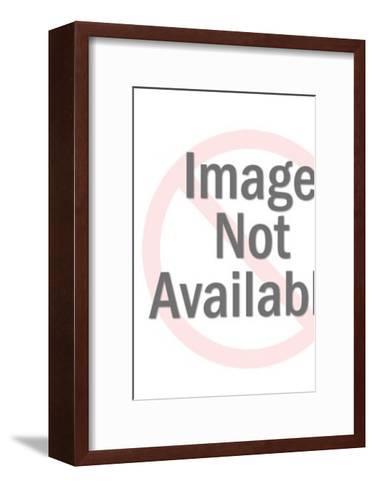 Falcon-Pop Ink - CSA Images-Framed Art Print