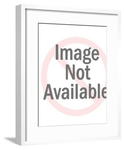 Steaming Beverage and Teapot-Pop Ink - CSA Images-Framed Art Print