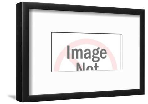 Astronaut in Outer Space-Pop Ink - CSA Images-Framed Art Print