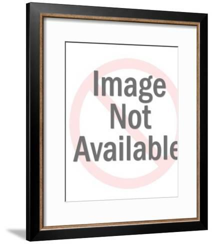 Scientist Holding a Test Tube-Pop Ink - CSA Images-Framed Art Print