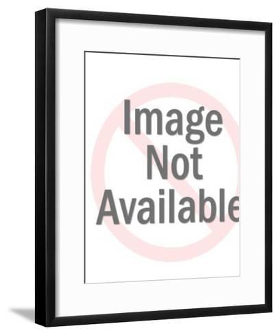 Horizontal Pattern-Pop Ink - CSA Images-Framed Art Print