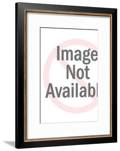 Rocket in Outer Space-Pop Ink - CSA Images-Framed Art Print