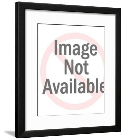 Red Flower-Pop Ink - CSA Images-Framed Art Print