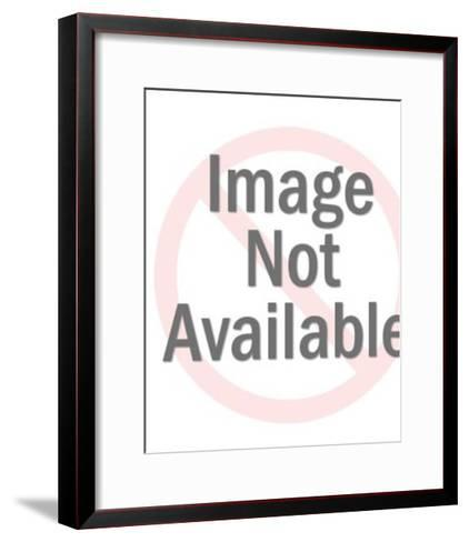 Hand Holding a Globe-Pop Ink - CSA Images-Framed Art Print