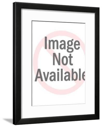 Couple Kissing-Pop Ink - CSA Images-Framed Art Print