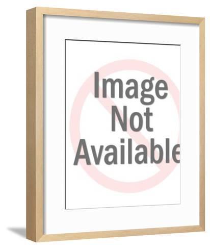 Psychedelic Teenage Girl-Pop Ink - CSA Images-Framed Art Print