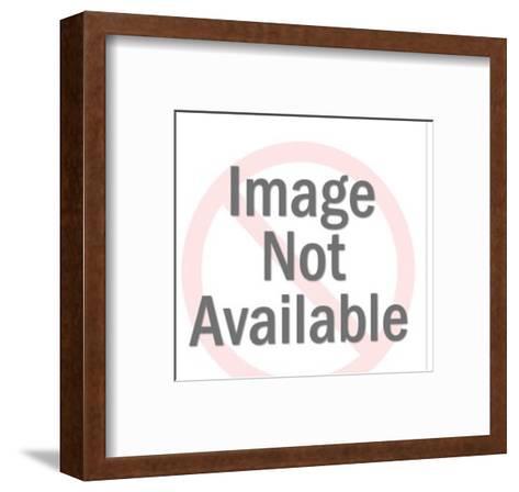 Satellite Dish-Pop Ink - CSA Images-Framed Art Print