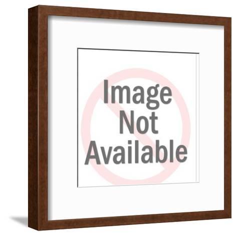 Man Looking at Woman-Pop Ink - CSA Images-Framed Art Print