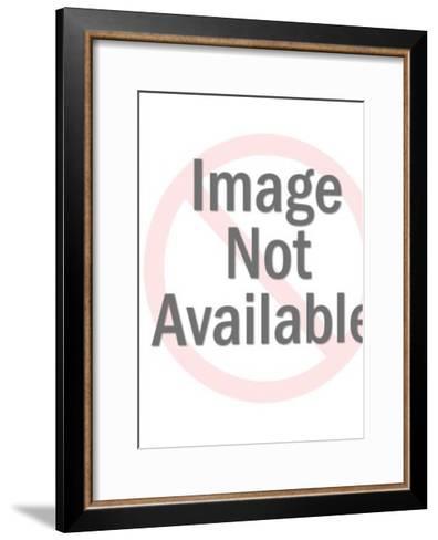 Astronaut With Gun-Pop Ink - CSA Images-Framed Art Print