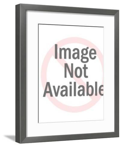 Astronaut Pattern-Pop Ink - CSA Images-Framed Art Print