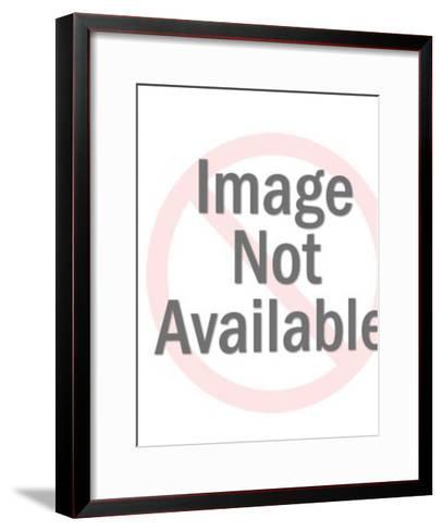 Abstract Arrow Pattern-Pop Ink - CSA Images-Framed Art Print