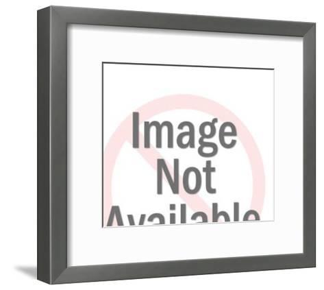 Spaceship Control Panel-Pop Ink - CSA Images-Framed Art Print