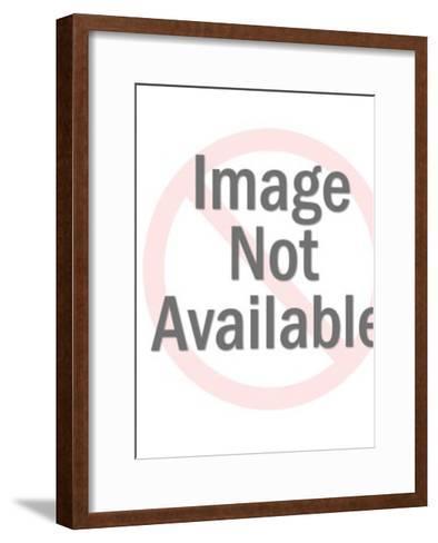 Stylish Woman-Pop Ink - CSA Images-Framed Art Print