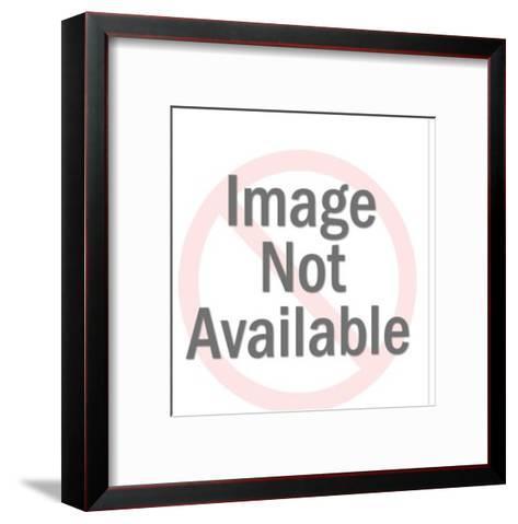 Doberman-Pop Ink - CSA Images-Framed Art Print