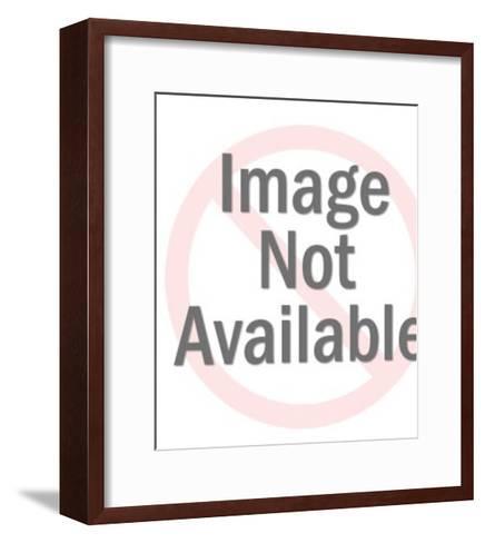Woman Wearing Crown-Pop Ink - CSA Images-Framed Art Print