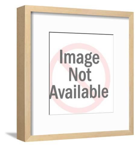 Dog bath-Pop Ink - CSA Images-Framed Art Print