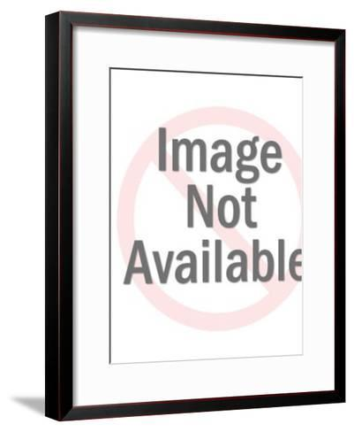 Happy Couple Hugging-Pop Ink - CSA Images-Framed Art Print