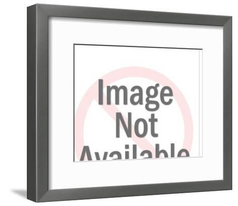 Hound Dog-Pop Ink - CSA Images-Framed Art Print