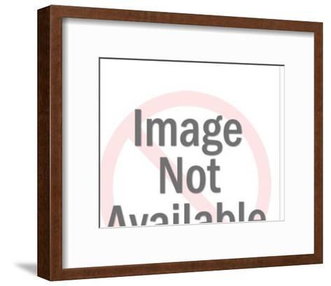 Bloodhound-Pop Ink - CSA Images-Framed Art Print