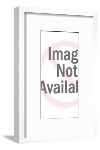 Girl in costume-Pop Ink - CSA Images-Framed Art Print
