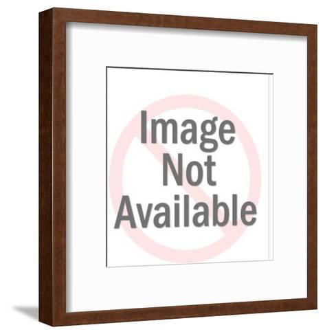 Projectile vomit-Pop Ink - CSA Images-Framed Art Print