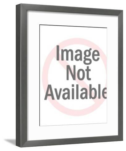 Mask-Pop Ink - CSA Images-Framed Art Print