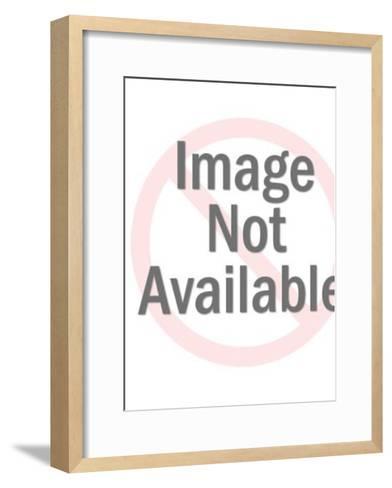 Woman-Pop Ink - CSA Images-Framed Art Print