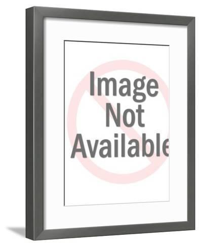 Cartoon music-Pop Ink - CSA Images-Framed Art Print