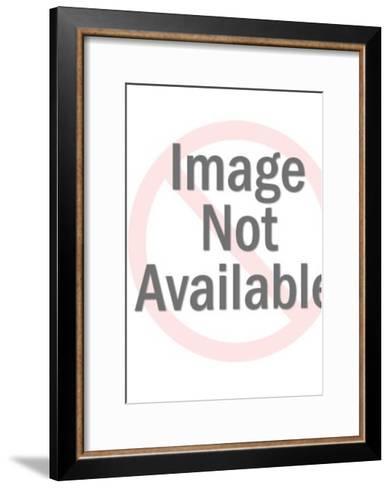 Stuffed bear-Pop Ink - CSA Images-Framed Art Print