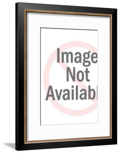Bunny Riding Duck-Pop Ink - CSA Images-Framed Art Print