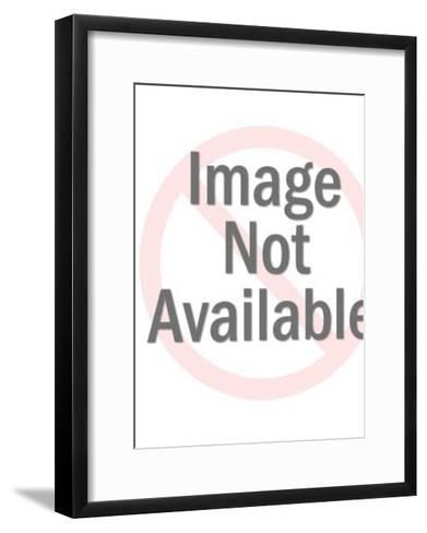 Cat-Pop Ink - CSA Images-Framed Art Print